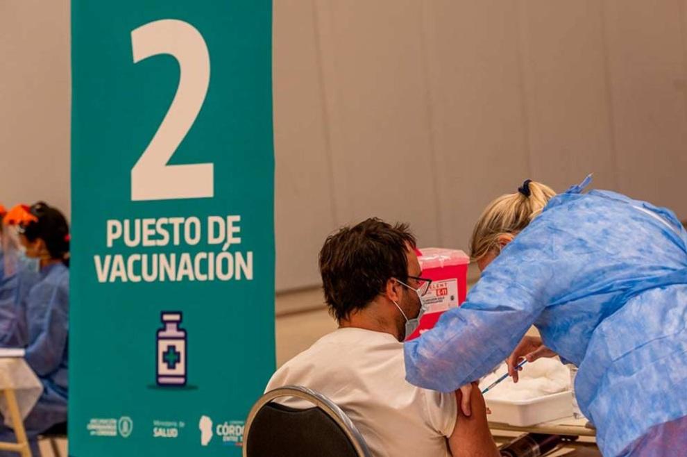 Vacuna Covid: finalizó la colocación de la segunda tanda de dosis